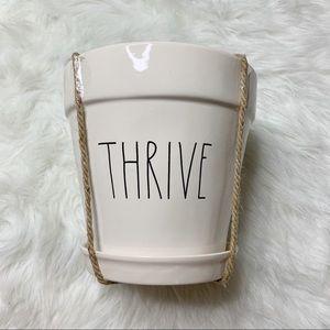 Rae Dunn THRIVE plant pot